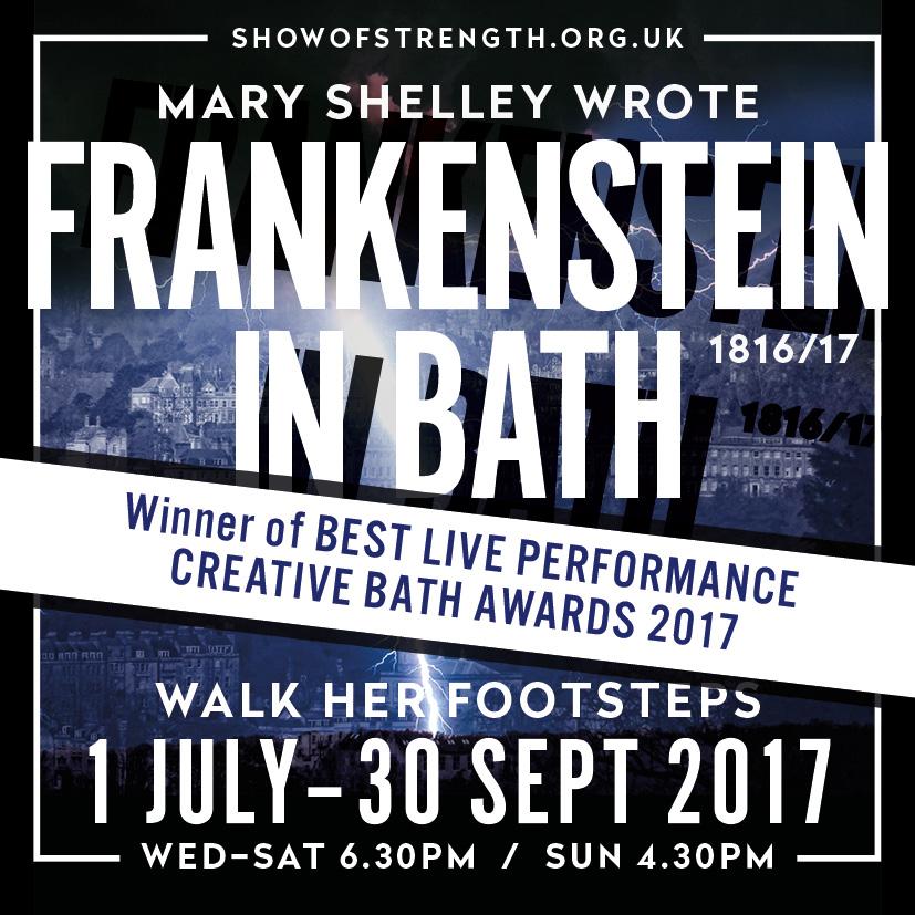 Frankenstein in Bath, Back for 2017