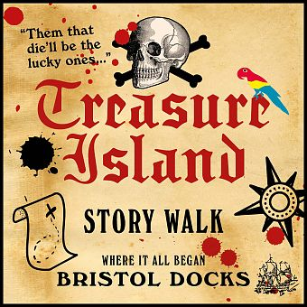 Treasure Island Story Walk Bristol Docks